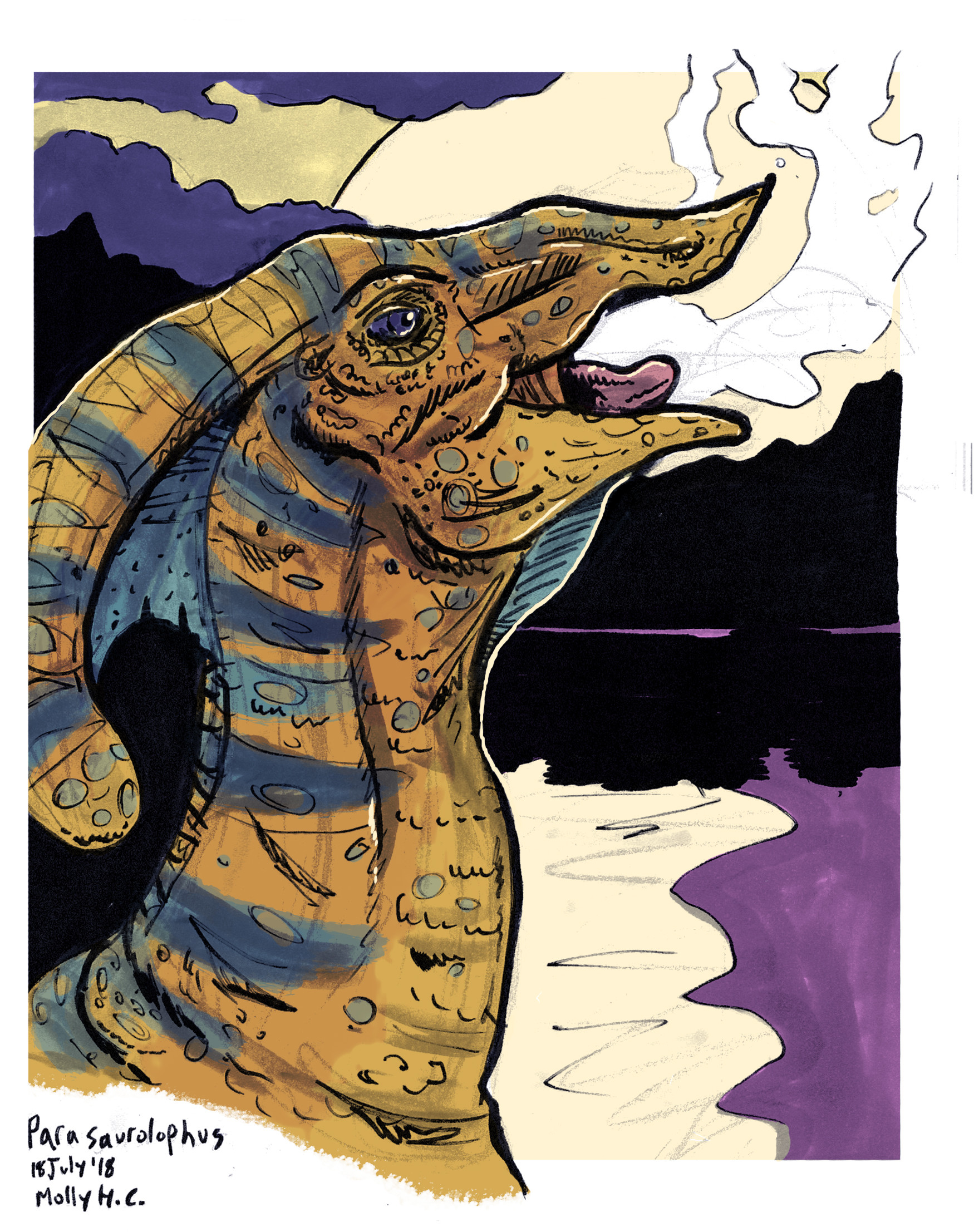 Molly heady carroll parasourolophus
