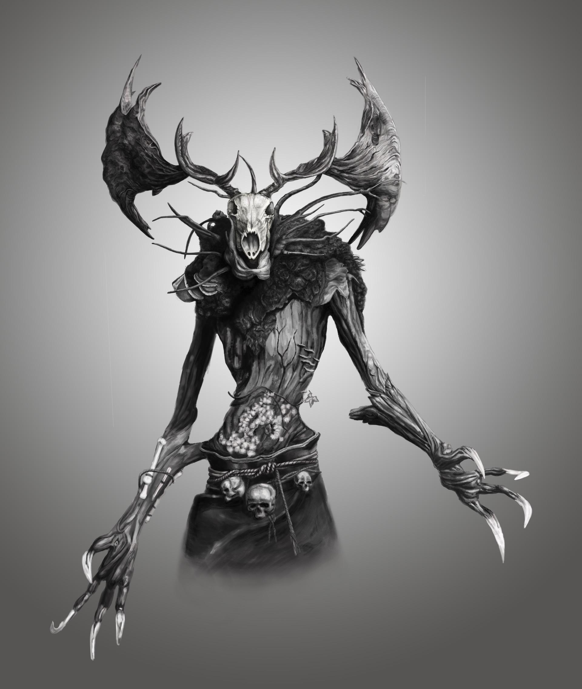 Леший | Статья Witcher | infernal-duck.com | 2271x1920