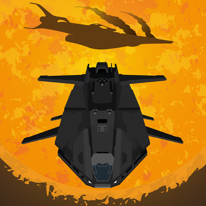 Elite Dangerous - Federal Dropship Posters (Revisit)