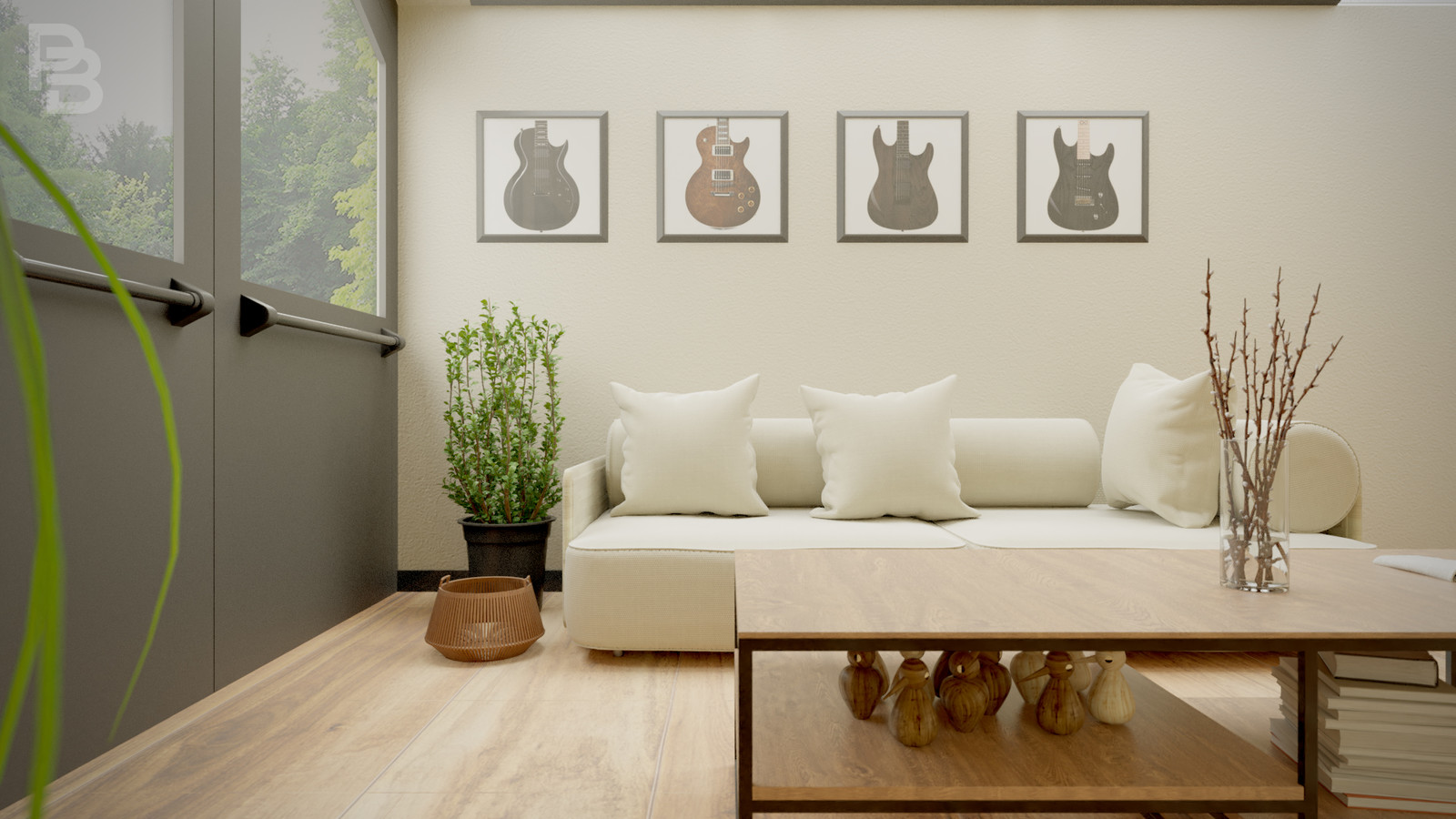 Forest Living Room