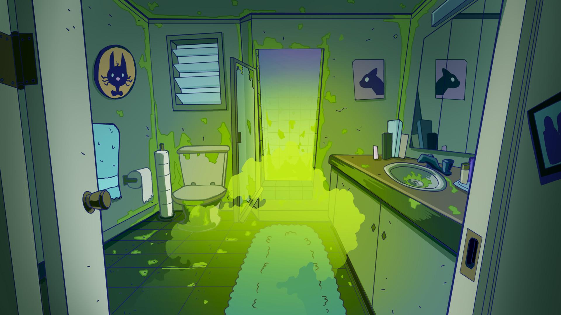 Albert carranza background scummybathroom