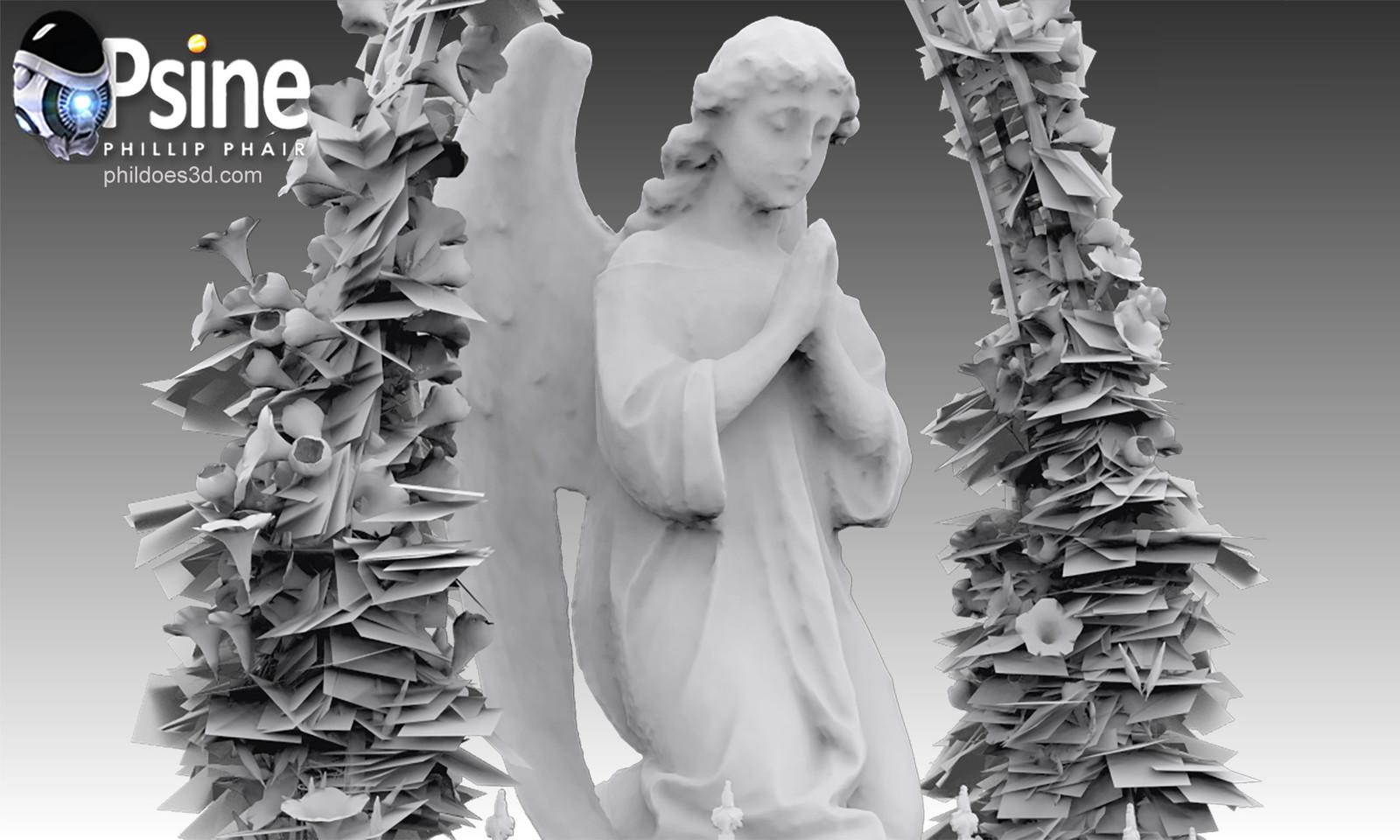Praying Angel Occlusion