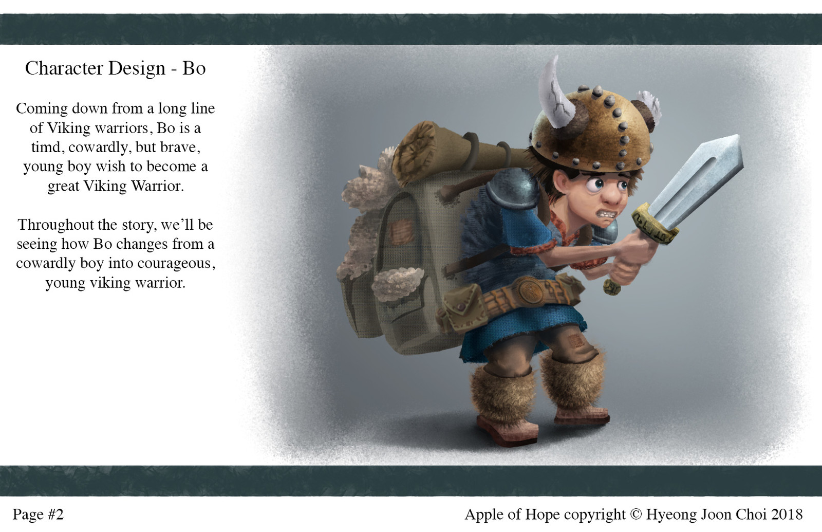 Apple Of Hope - Character Design: Bo