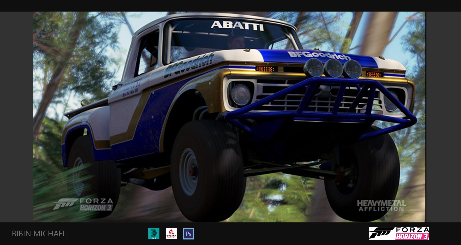 Bibin michael trophy truck 01