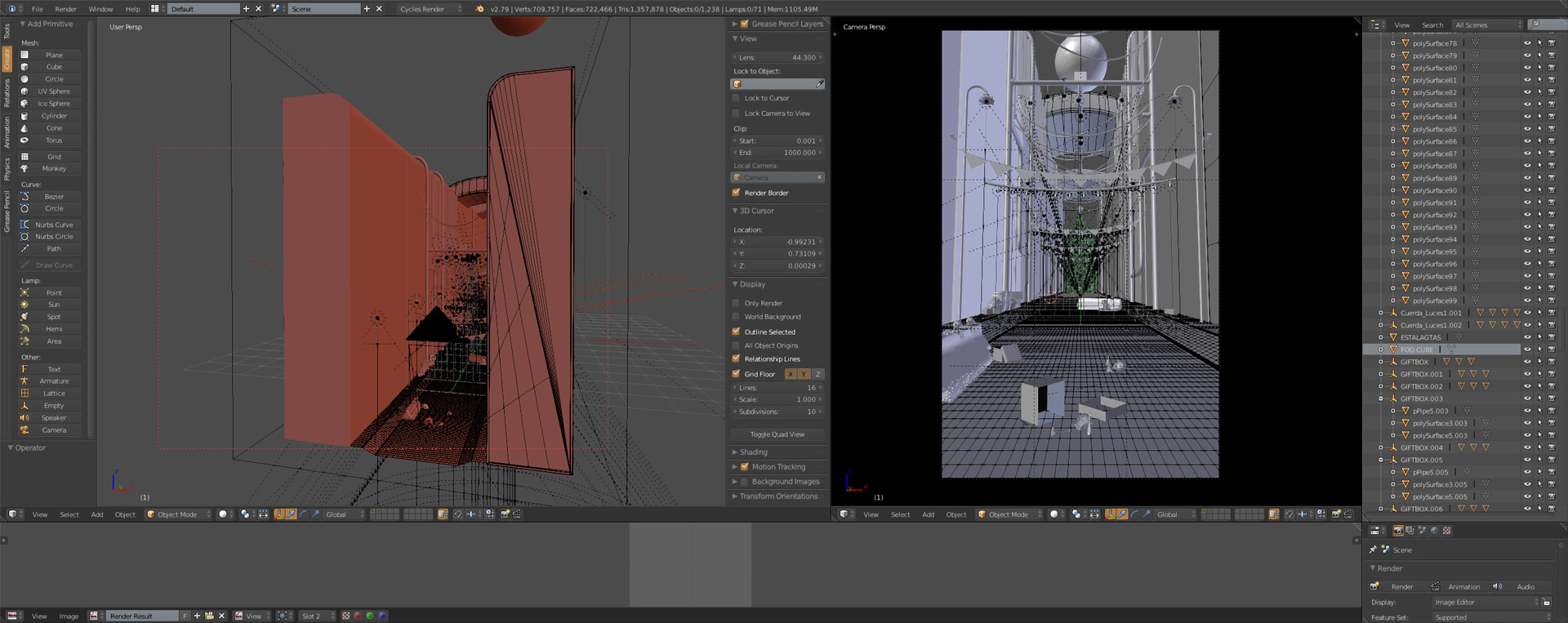 blender interfase