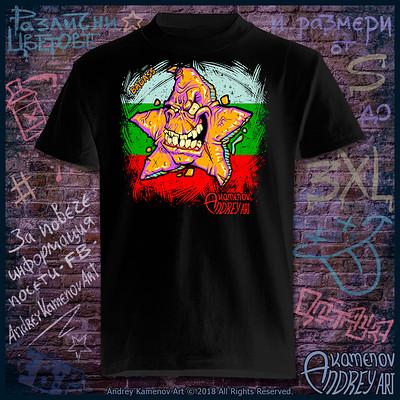 Andrey kamenov badass star t shirt bg 01