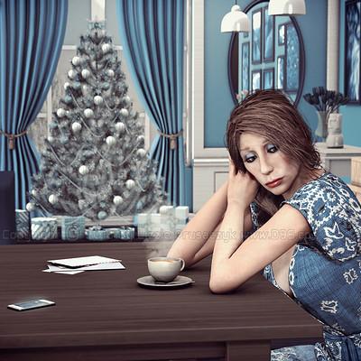 Lizzie prusaczyk d9s co blue xmas