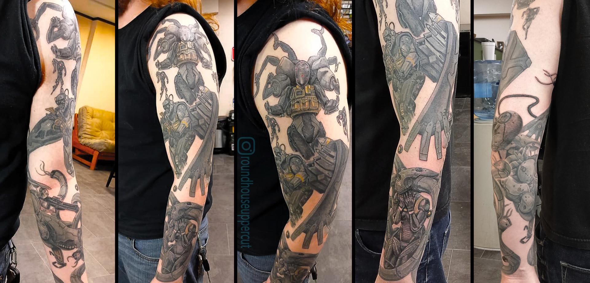 Artstation Metal Gear Solid 4 Tattoo Sleeve J All Day