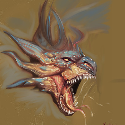 Okan bulbul dragon hex 01