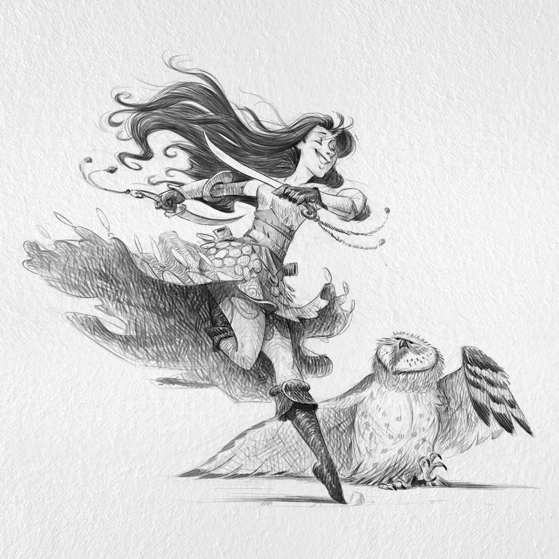 Thyla, mother of sworddancing