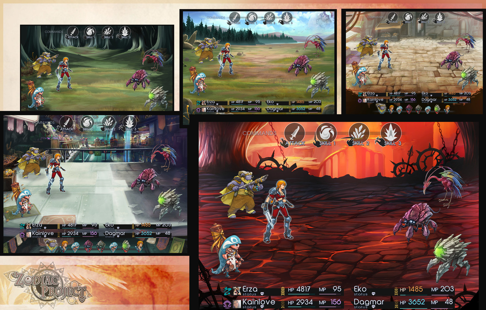 Création de décors pour des environnements de combat