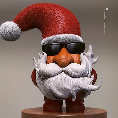 Surajit sen smart santa sculpt by surajitsen 25122018