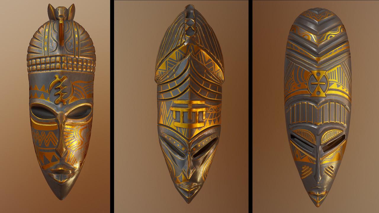 Jeryce dianingana masks 1