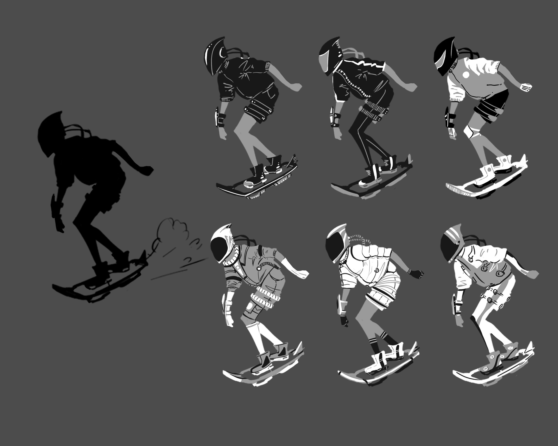 Early design variations