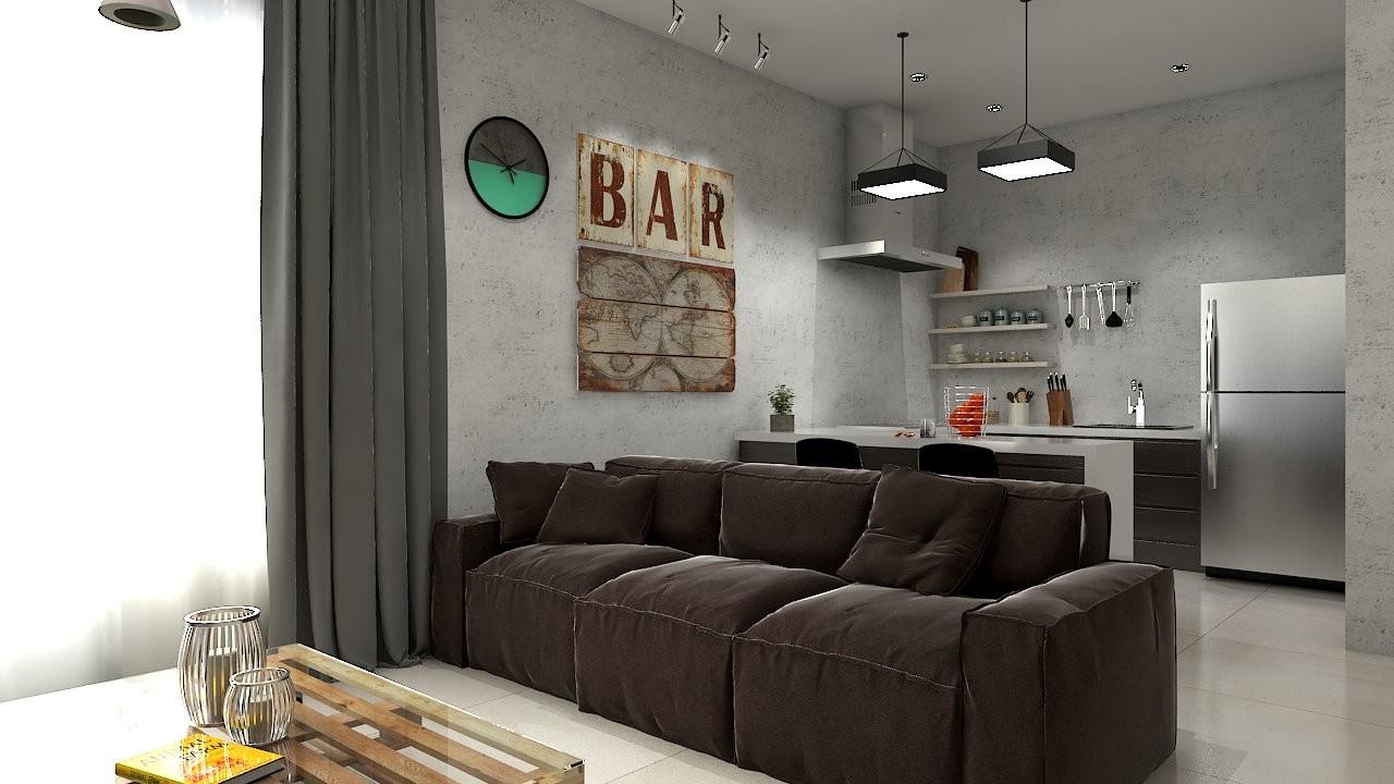 Artstation Living Room With Mini Bar Yopy Gunawan