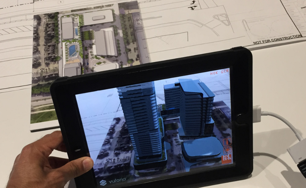 R&D: Augmented Reality Architecture iOS App Proof of Concept