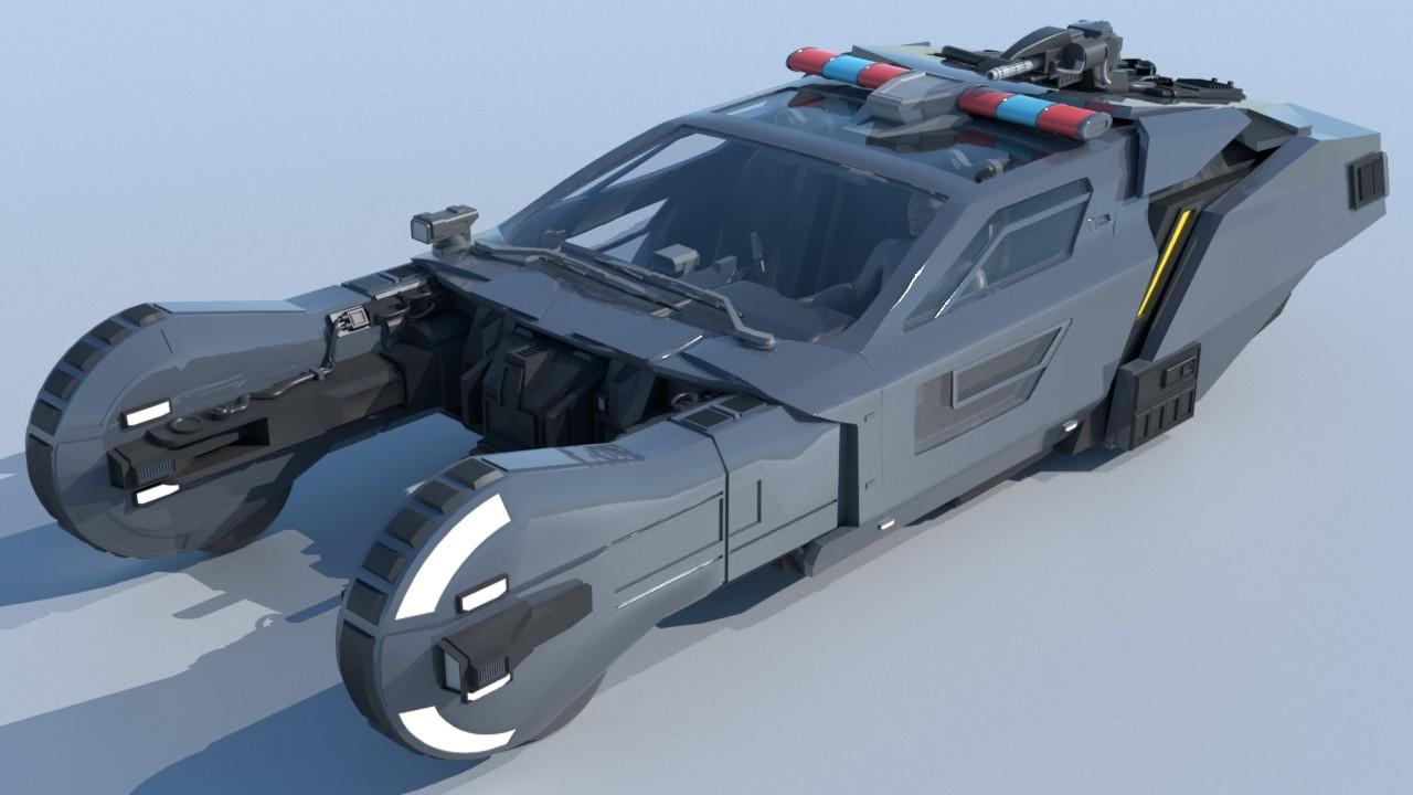 Blade Runner 2049 Concept spinner