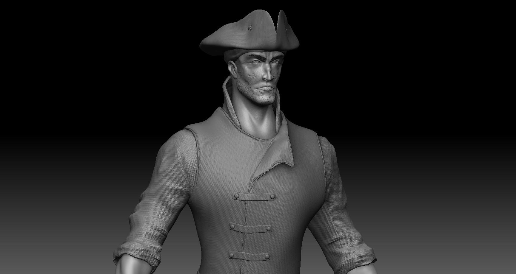ArtStation - Pirate Model, Manu Prasad