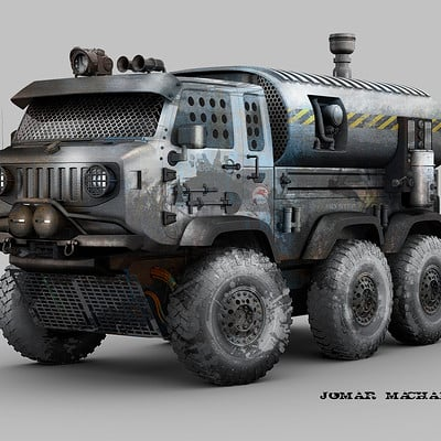 Jomar machado 167 mini war truck