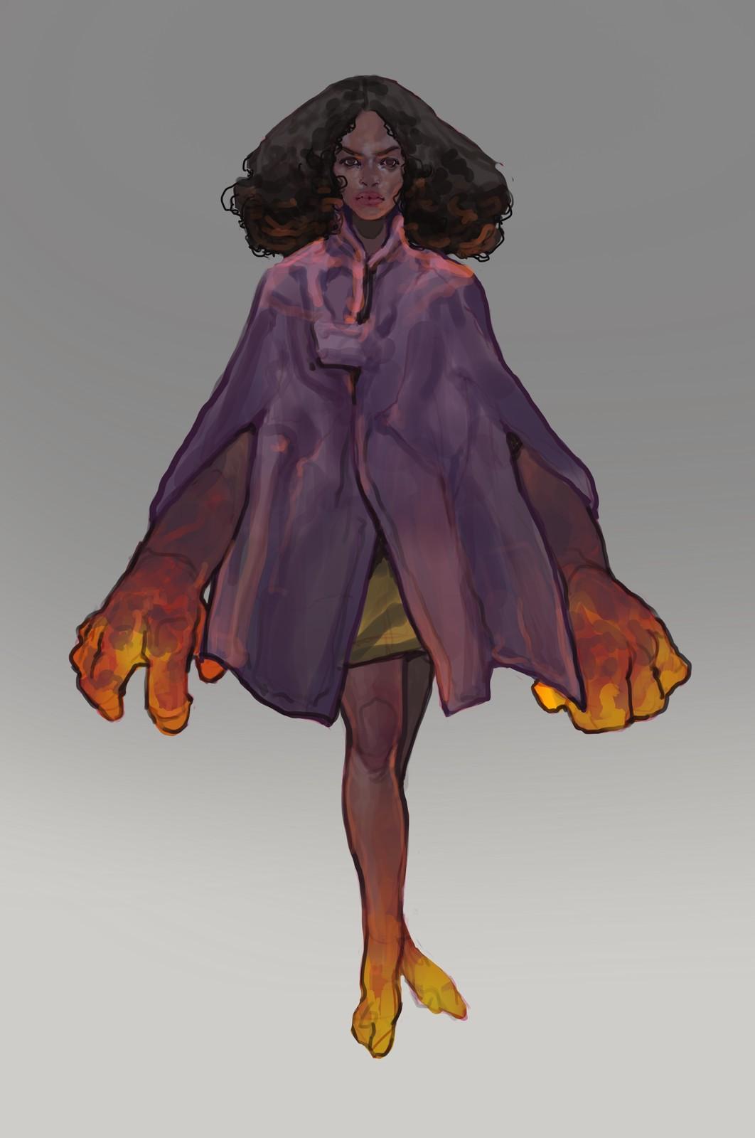 Volcano Character Sketch