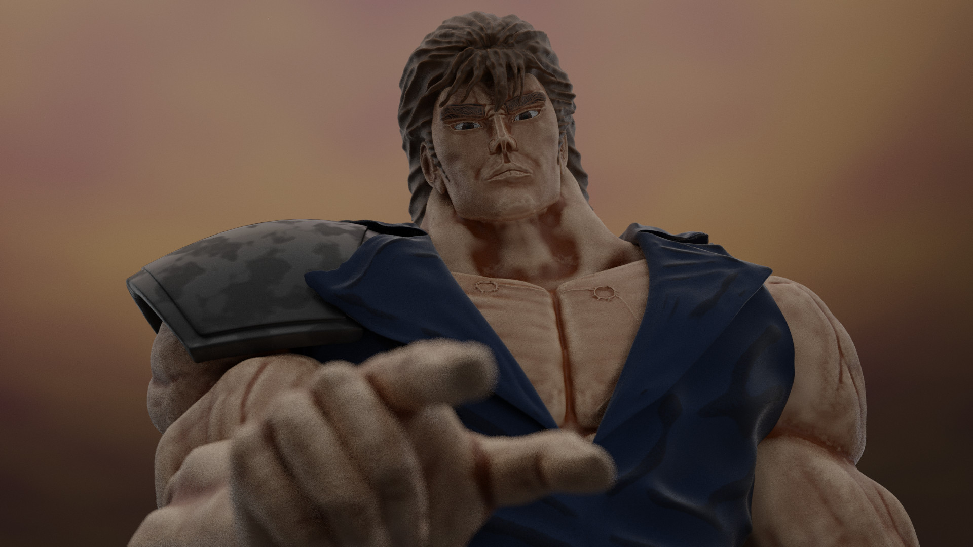 Rodion Sigov Kenshiro From Anime Fist Of The North Star