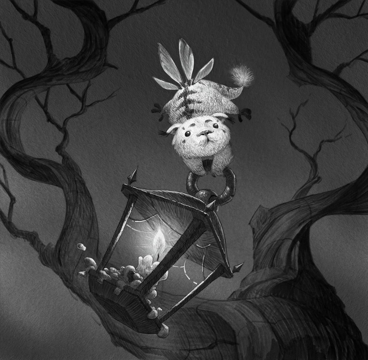 """""""Lampen-Bärchen"""", The Little Lamp Bear"""