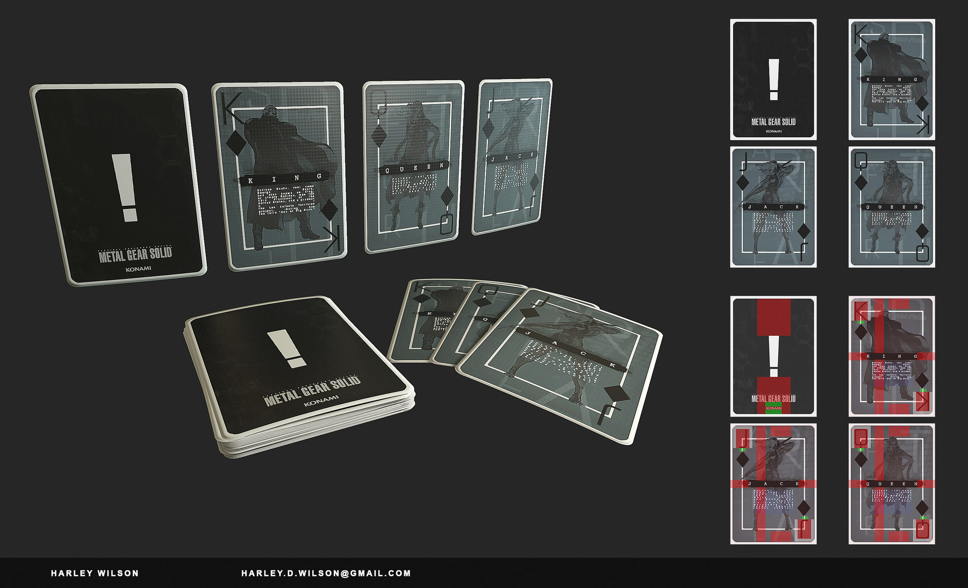 Harley wilson gd playingcards a