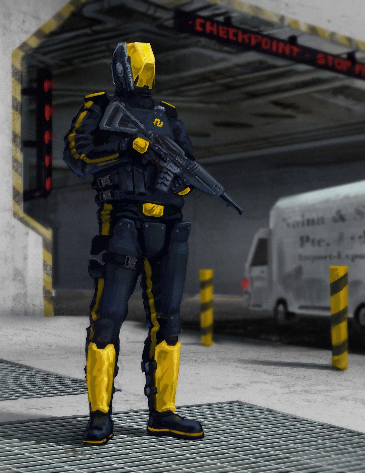 Project Linosia: Norbac Checkpoint Officer