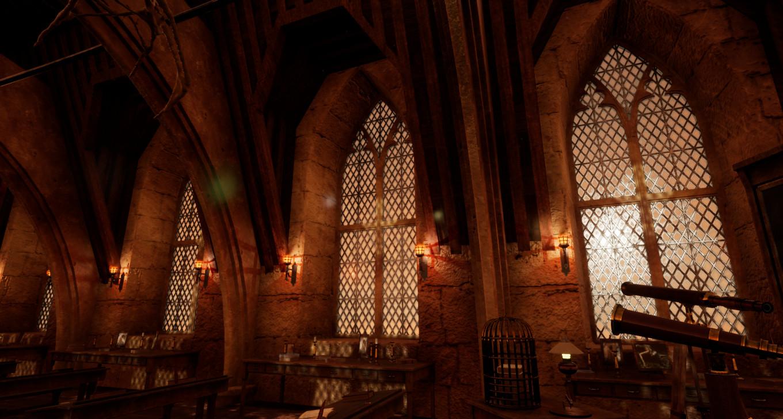 Artstation Harry Potter Defense Against The Dark Arts
