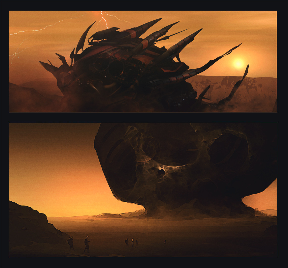 Worldview - eerie thumbnails
