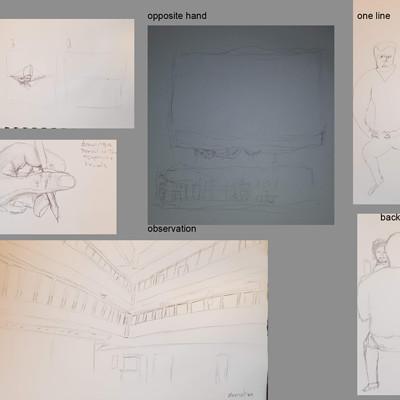 Cleyon johns drawings