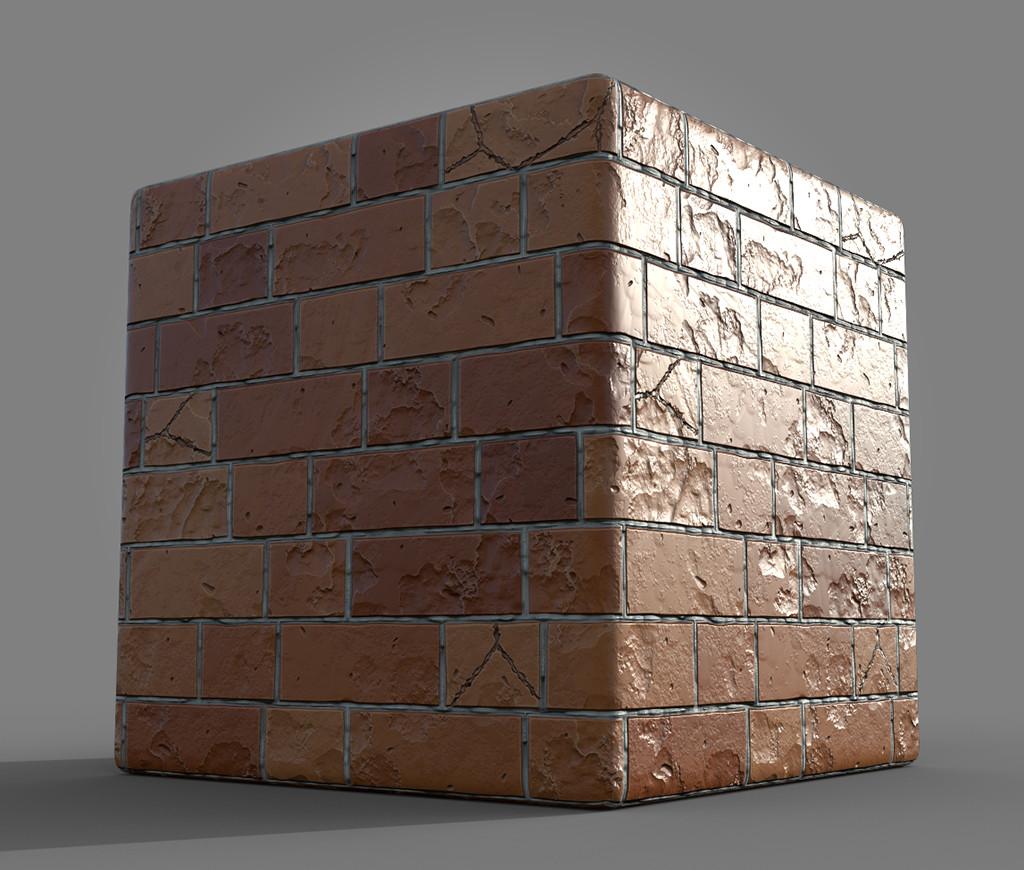 Maurizio barabani brick render