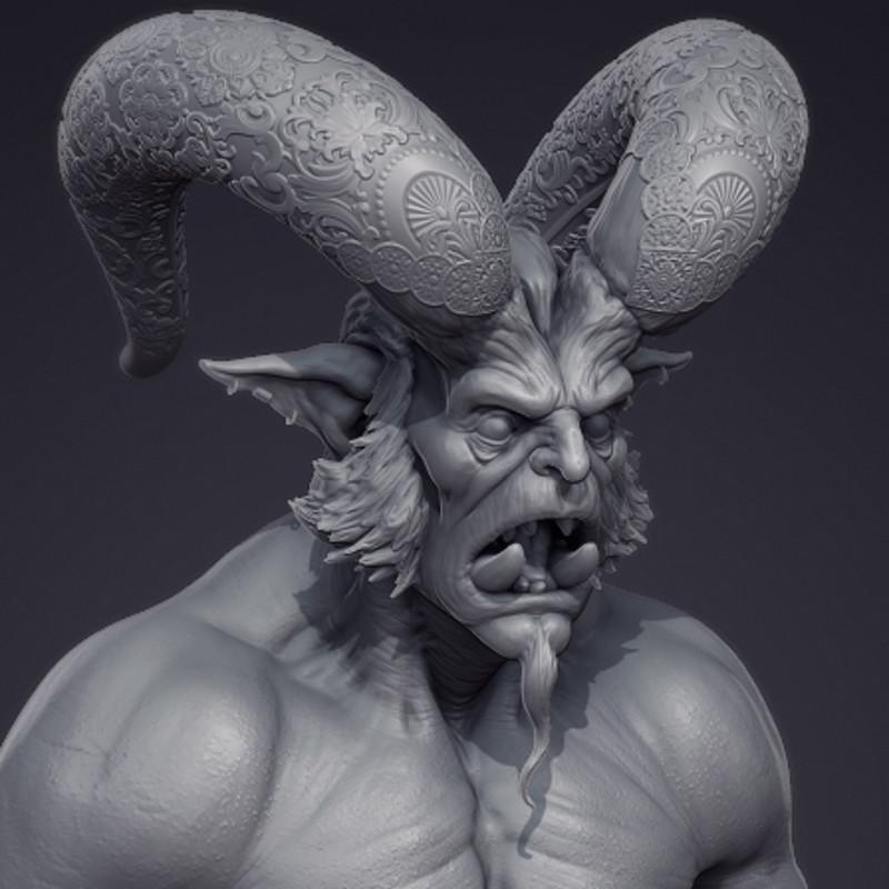 Djinn Sculpt