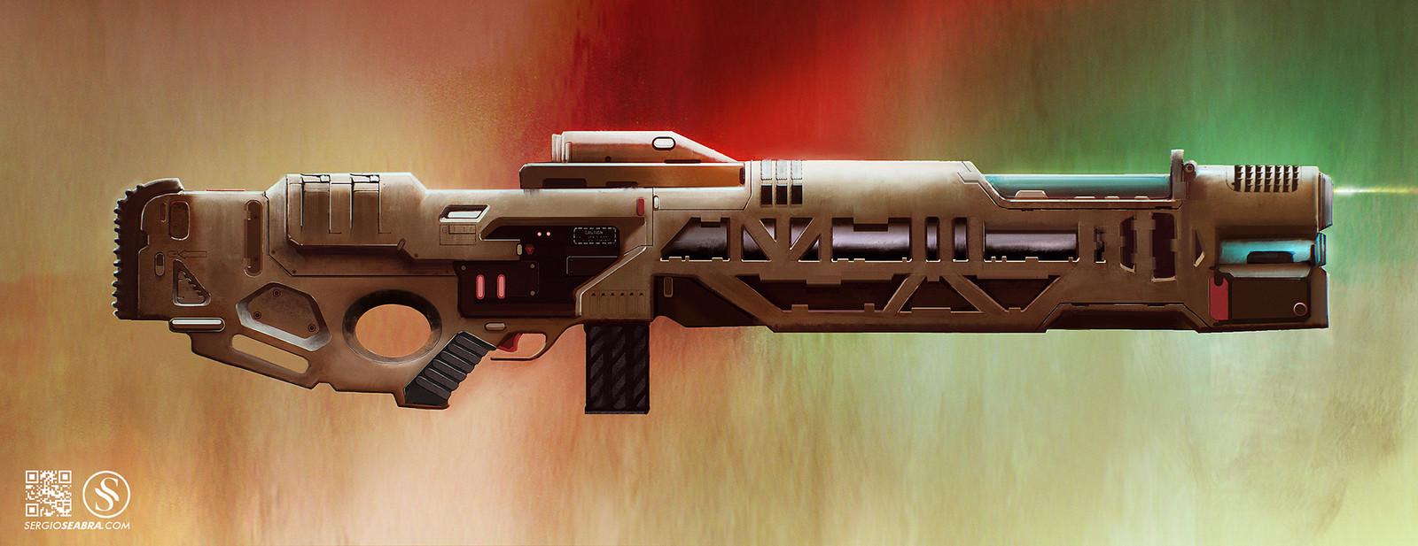 Sci-Fi Rifle