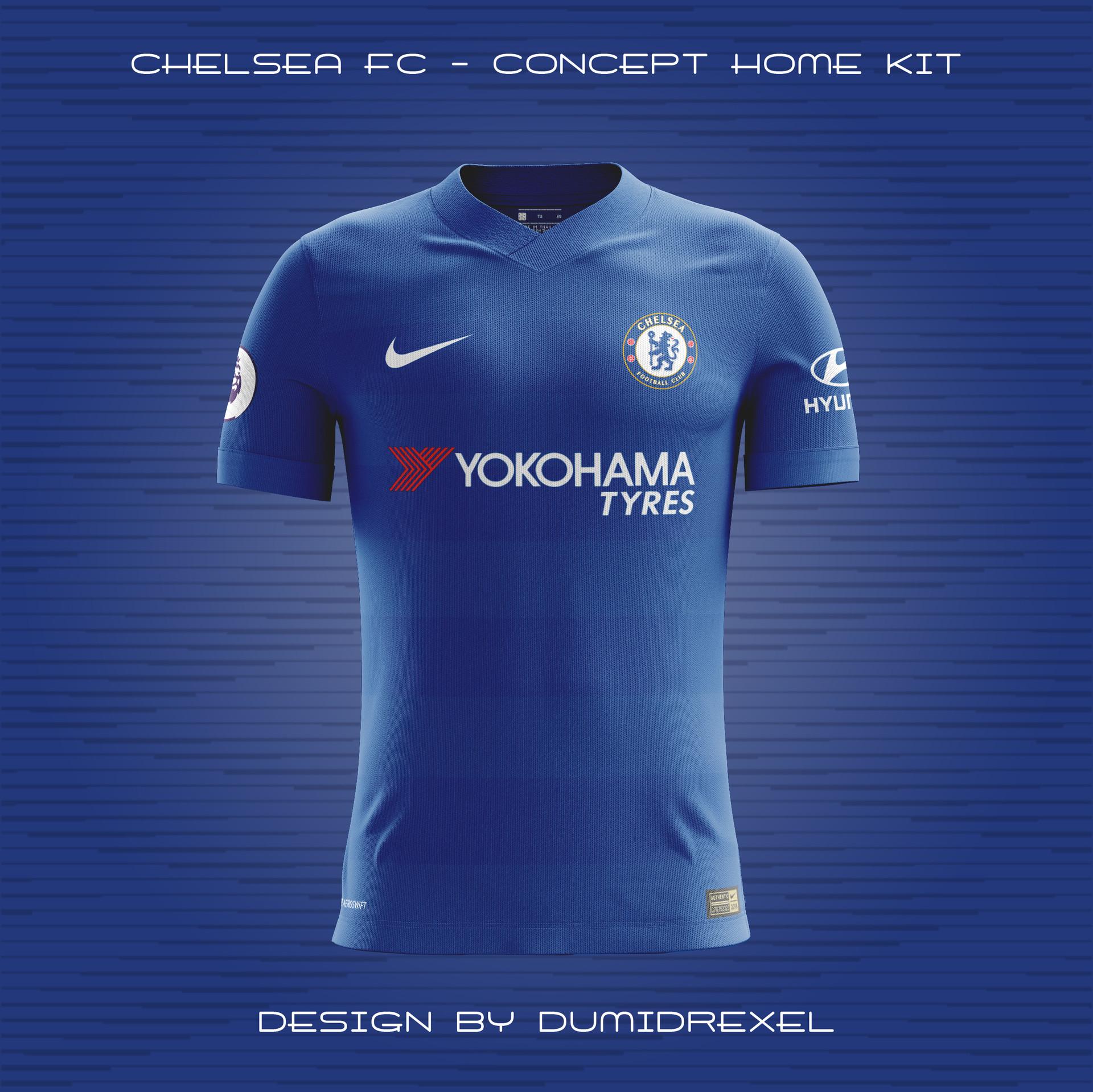 super popular 3e9f1 518e3 ArtStation - Concept kits (Chelsea home, away, 3rd & Paris ...