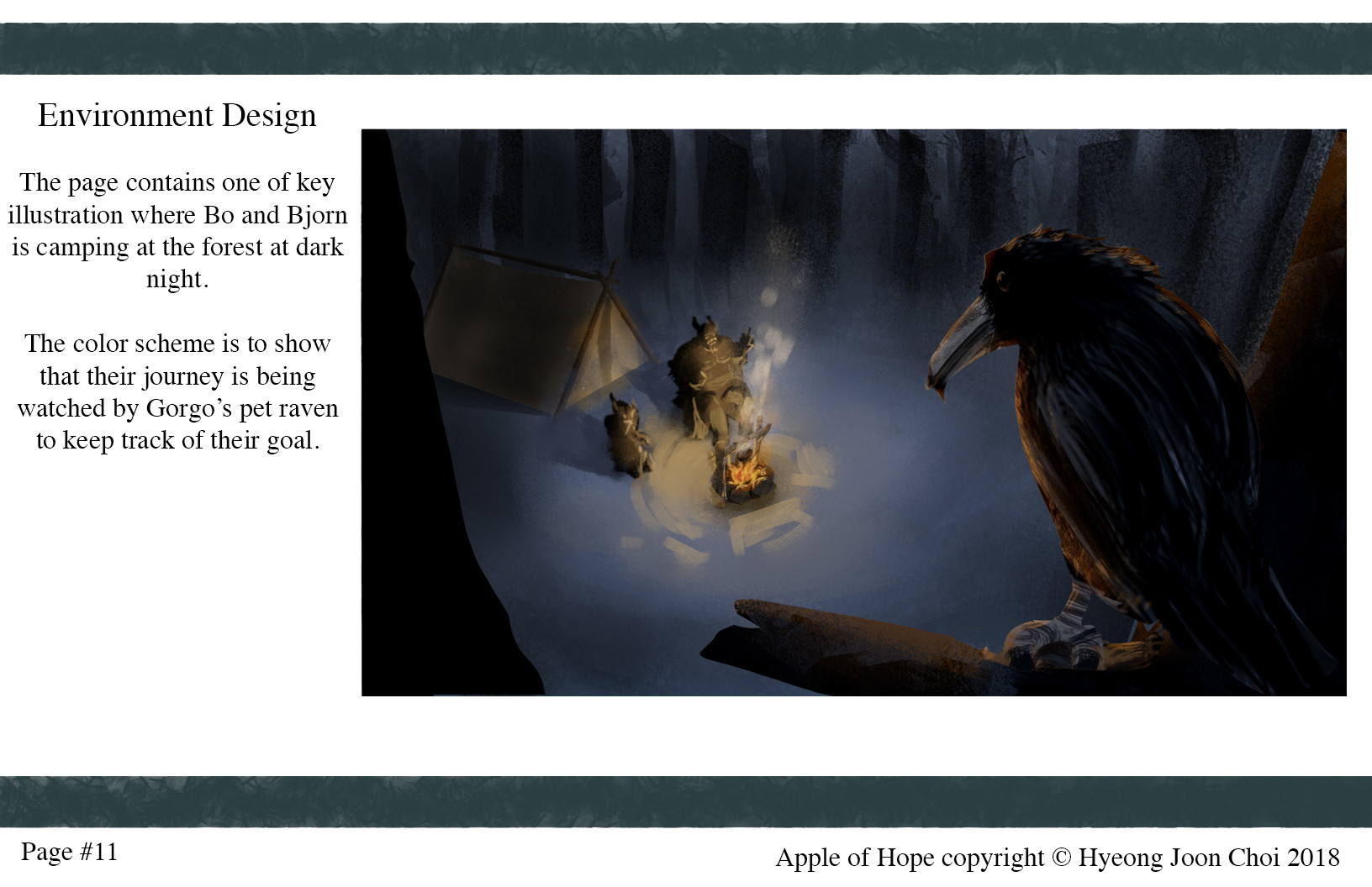 One of Environment Designs for Apple of Hope.