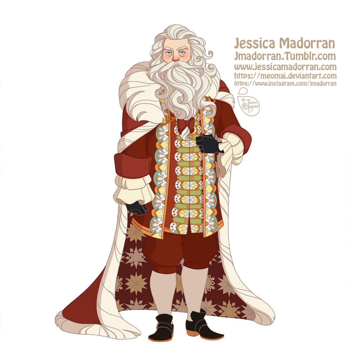 Jessica madorran character design paris 2018 versailles santa family individuals santa