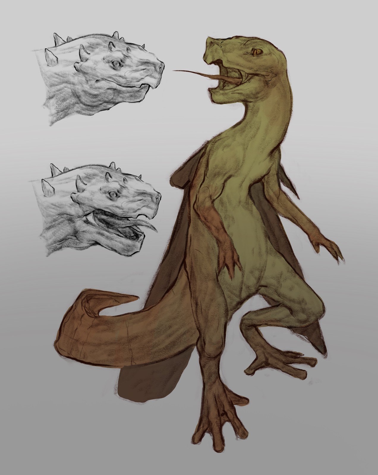 Creatuanary Day 1: Swamp Dragon