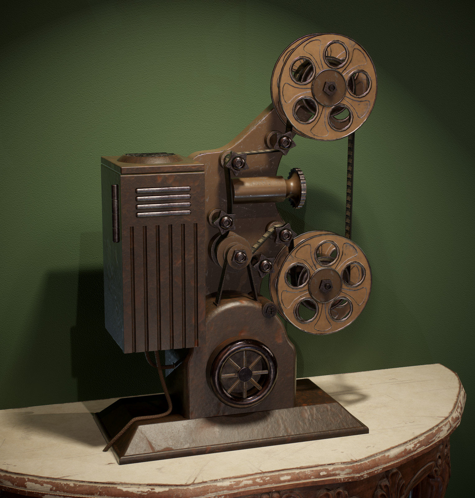 Film Projector - Hero Asset