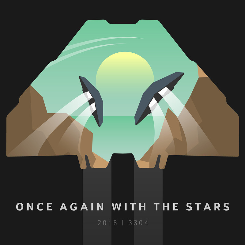 """Once again with the stars"" - Tribute poster"