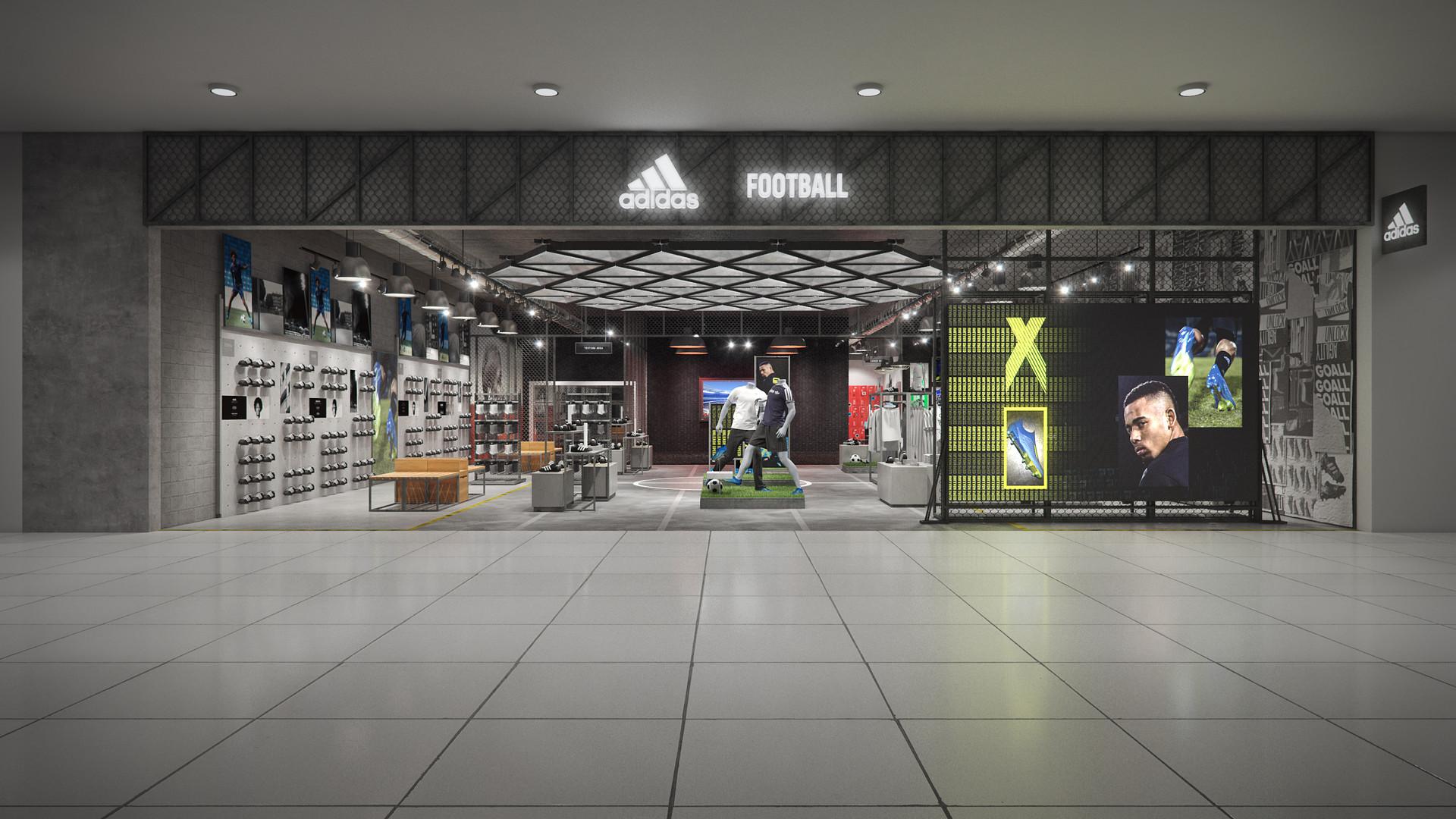 ArtStation Adidas China Concept Stores Football, Matthew