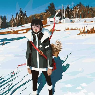 Yun ling snow girl