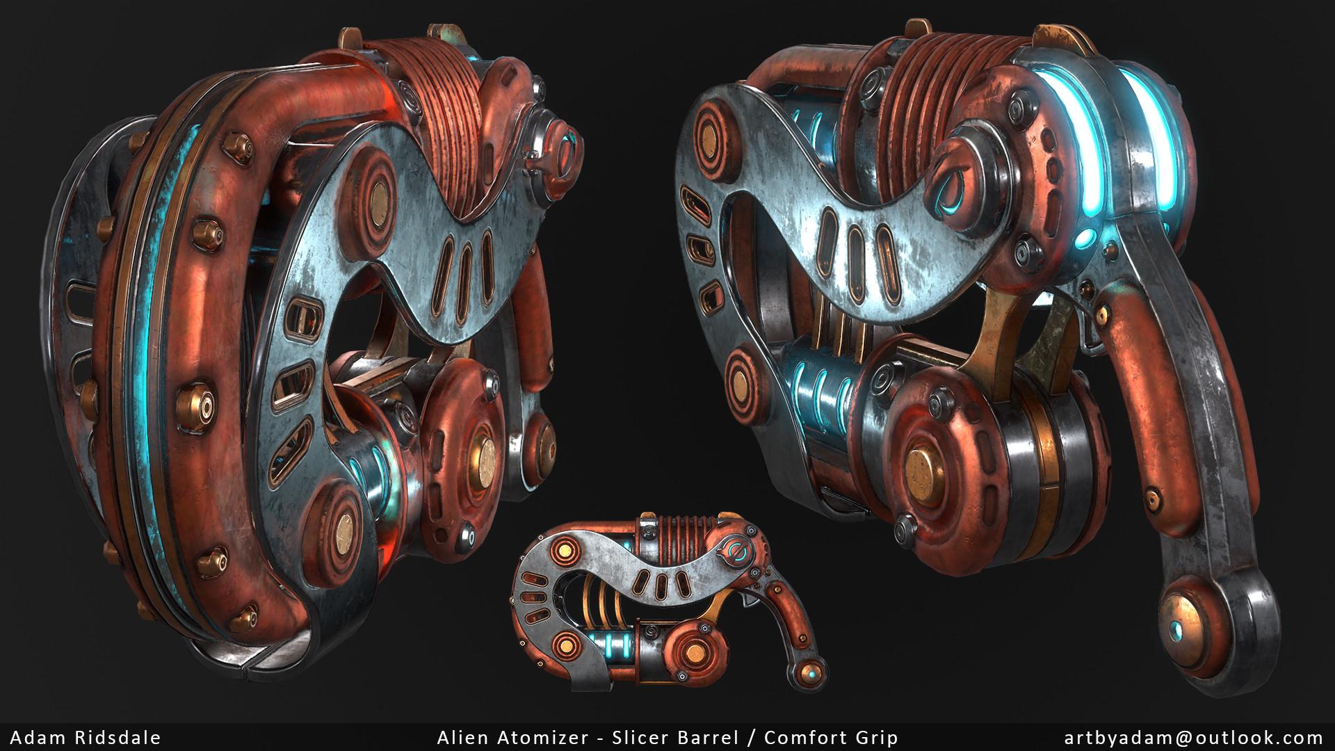 Adam ridsdale atomizer 2