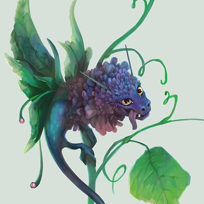 CDC Flower Dragon