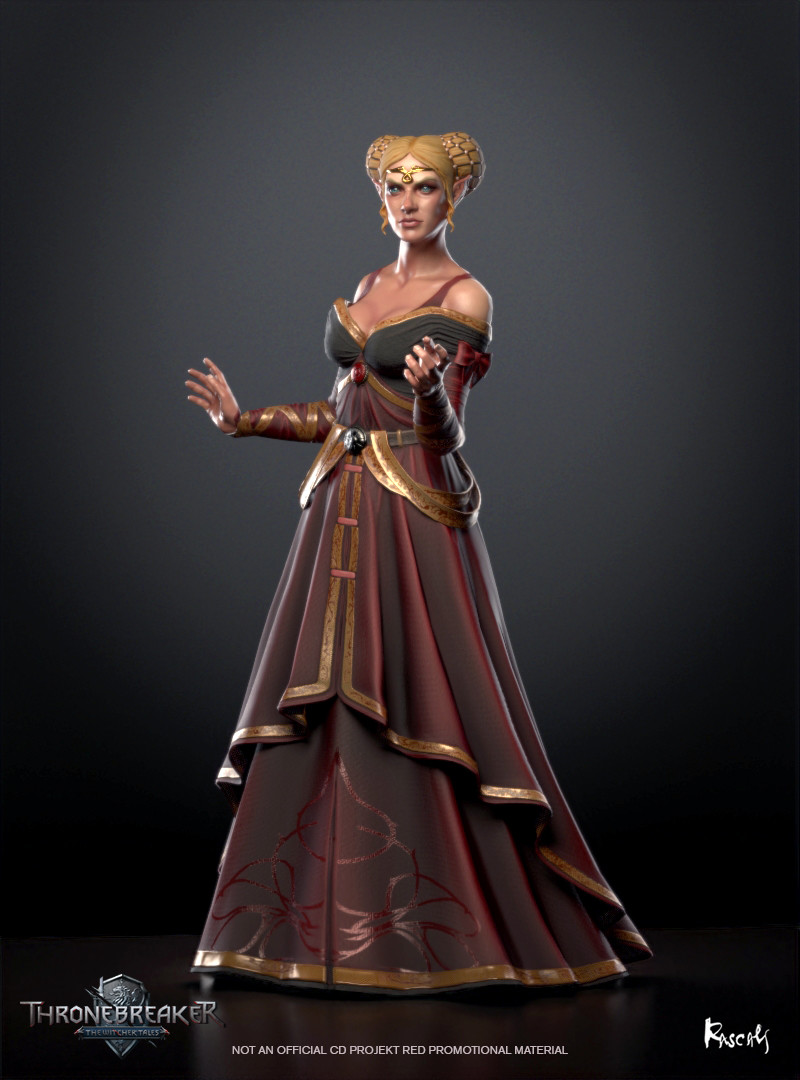 Enid an Gleanna (Elder Speech: Daisy of the Valleys), also known as Francesca Findabair, was an elf, a sorceress, and was the queen (later duchess) of the elves of Dol Blathanna as decreed by Emperor Emhyr var Emreis.