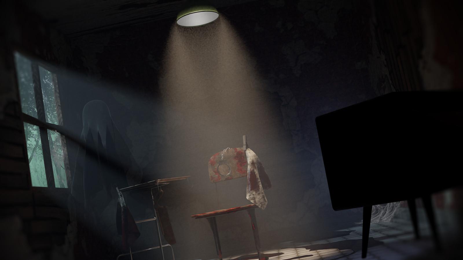 """The Chair"" - 3D Horror Game Environment"