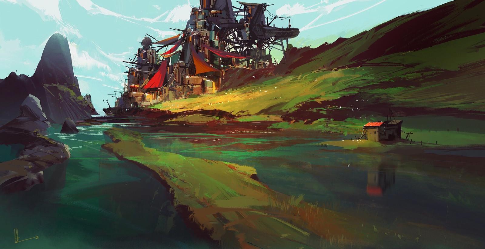 Mortal Engines / Oak Island With Dunromain