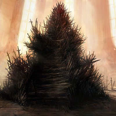 David demaret iron throne david demaret
