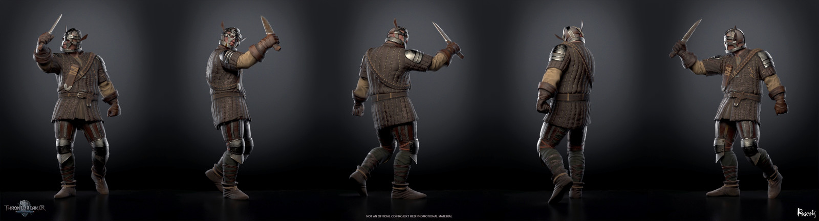 Artist: Pavel Gorovoy, Art Director: Roman Mindek, Producer: Tom Roller.  Poses created from rigs and animation by CD PROJEKT RED. Check out more from Rascals at www.rascals.studio