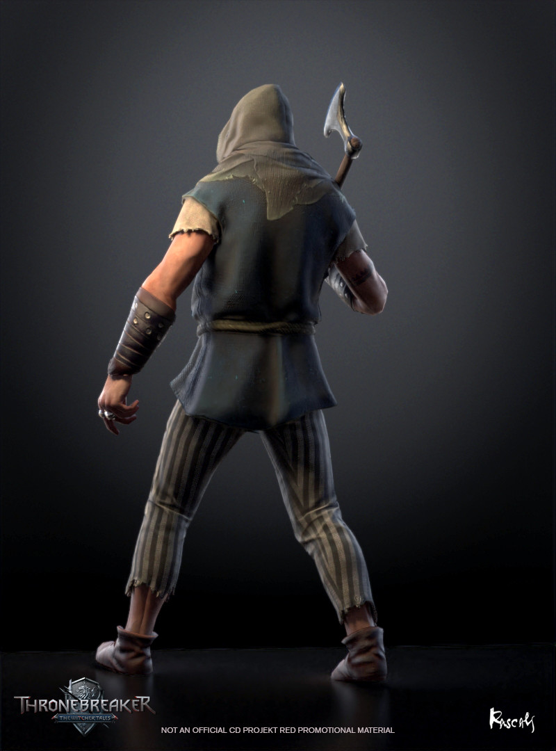 The Pirate's clothing is modeled on an early medieval dress worn in Northern Europe.  (source: Witcher Wiki)